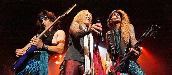 steel panther slide - Steel Panther crude fun The Paramount Huntington, NY 5-19-15 w/ Like A Storm