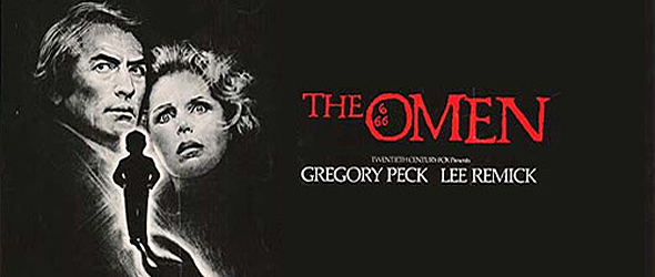 the omen big slide - This Week in Horror Movie History - The Omen (1976)