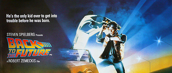 back to the future big slide - Back to the Future - 30 Years Later, The Future is Now