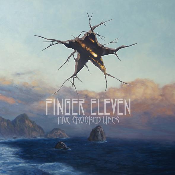 finger eleven album cover - Finger Eleven - Five Crooked Lines (Album Review)
