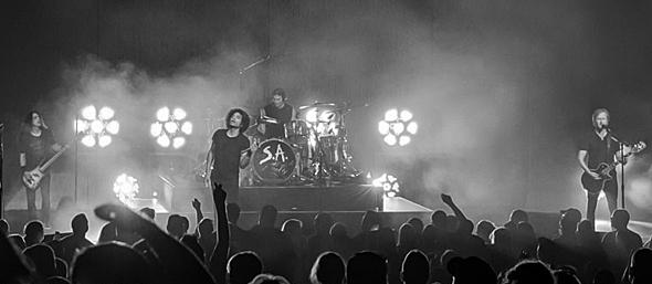 alice in chains slide - Alice in Chains Rattle The Grand Theater At Foxwoods Mashantucket, CT 8-14-15