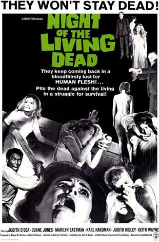 night of the living dead movie poster 1968 1020142678 - Interview - Cassandra Peterson Talks Elvira