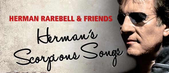 Herman Rarebell cover edited 1 - Herman Rarebell & Friends - Herman's Scorpions Songs (Album Review)