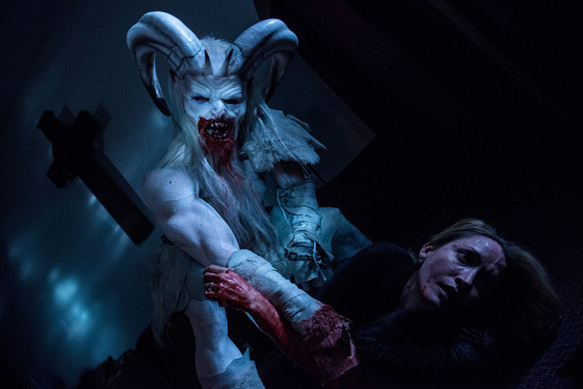 christmas horror story slide 3 - A Christmas Horror Story (Movie Review)