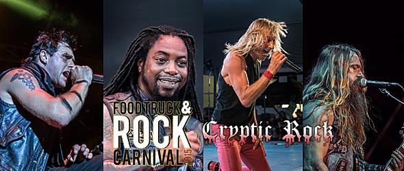 rock carnival day 1 slide - The Food & Truck Rock Carnival Rolls Into Oak Ridge Park, Clark, NJ 9-19-15