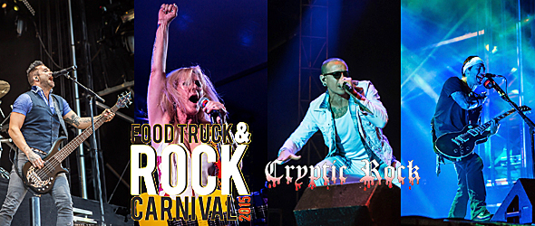 rock carnival day 2 slide - The Food & Truck Rock Carnival Unforgettable in Oak Ridge Park, Clark, NJ 9-20-15