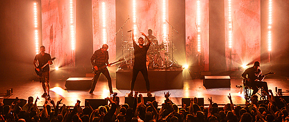parkway slide - Parkway Drive Pummel The Paramount Huntington, NY 11-16-15 w/ Miss May I, Thy Art is Murder, & In Hearts Wake