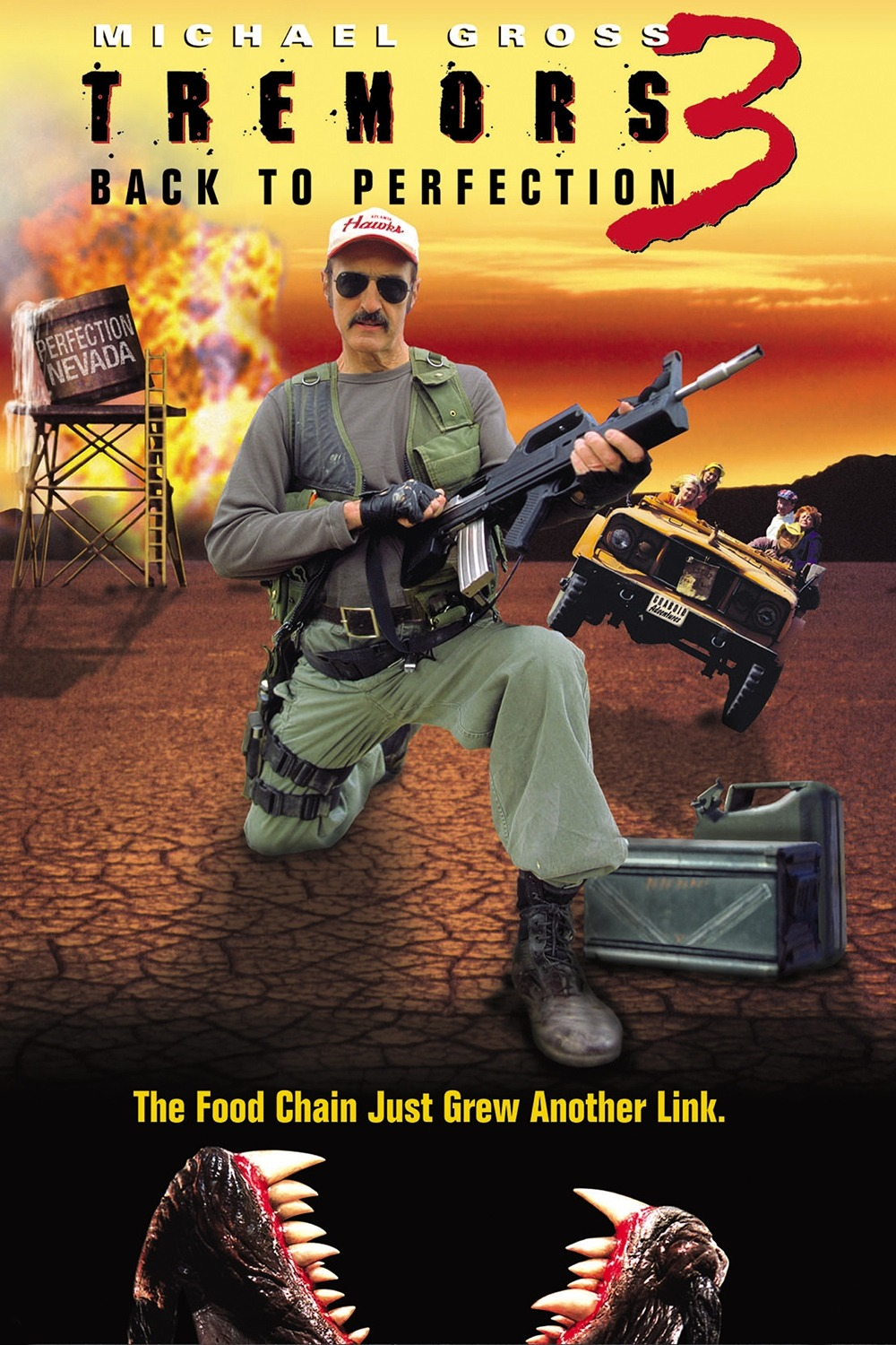 tremors 3 poster - Interview - Michael Gross