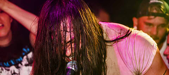 andrew wk 12 12 15 18 - Andrew W.K. Brings Party To Revolution Amityville, NY 12-12-15