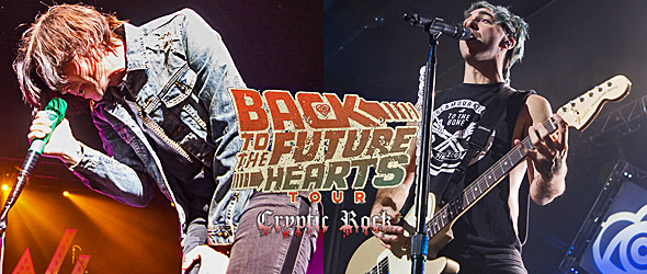 back to the future hearts slide - All Time Low & Sleeping With Sirens Sell Out The Theater At Madison Square Garden NYC 11-24-15