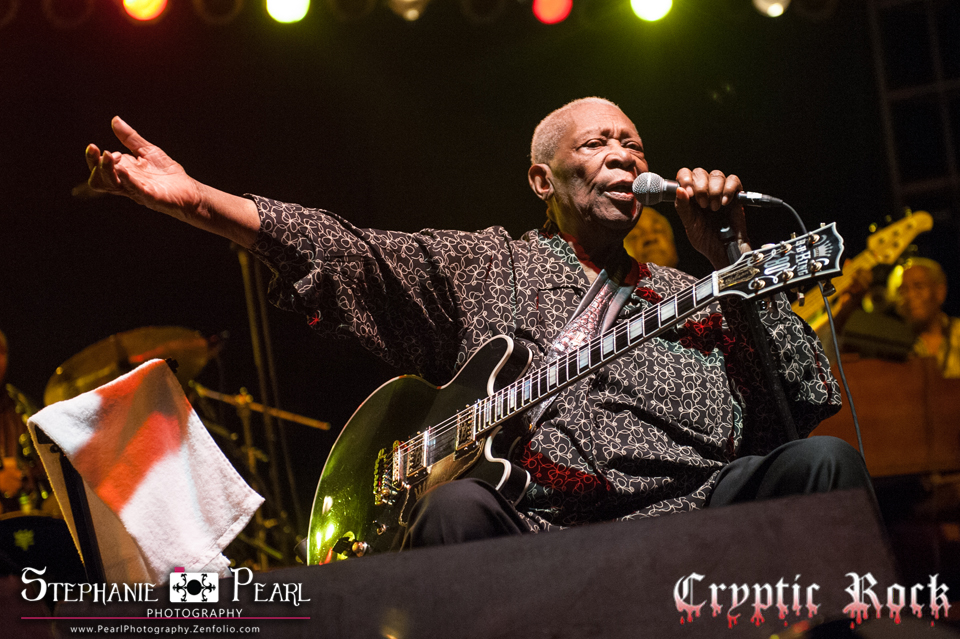 B.B. King live at Great South Bay Music Festival Patchogue, NY 7-20-14