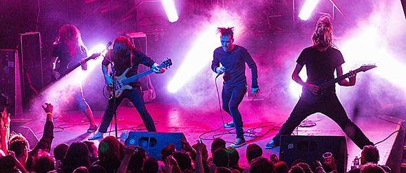 tess for 2 - TesseracT Enchant DNA Lounge San Francisco, CA 11-20-15 w/ Skyharbor, ERRA, & The Contortionist