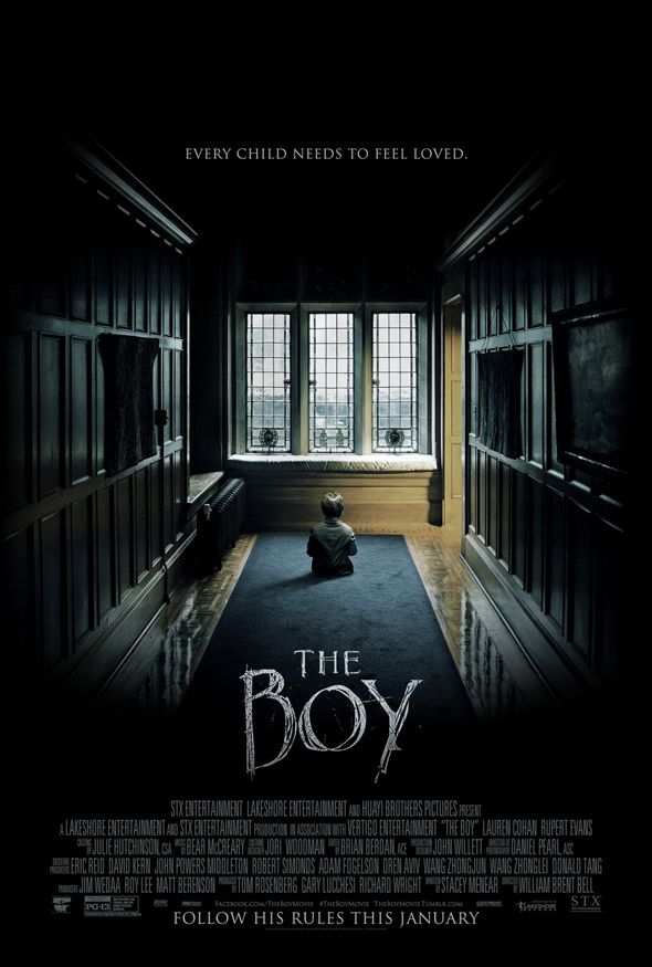 the boy poster - The Boy (Movie Review)