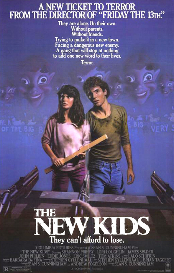 the new kids poster - This Week in Horror Movie History - The New Kids (1985)