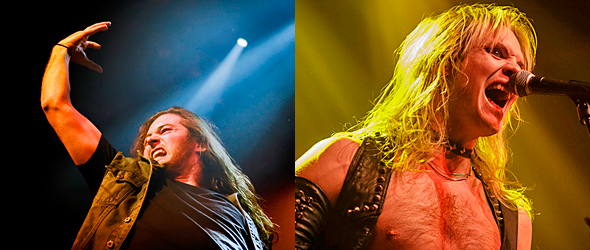 war enforcer slide - Enforcer & Warbringer Thrash Gramercy Theatre, NYC 1-5-16 w/ Cauldron & Exmortus
