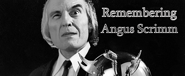 angus slide - Angus Scrimm - The Beloved Tall Man