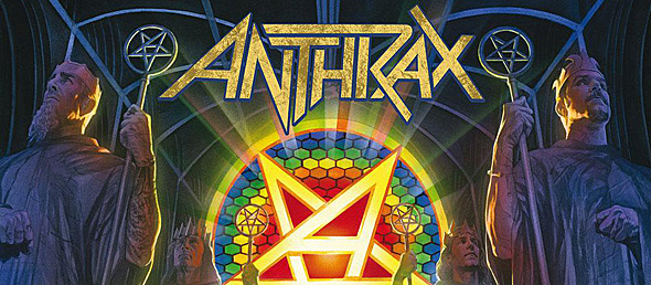 anthrax for all kings album new edited 1 - Anthrax - For All Kings (Album Review)
