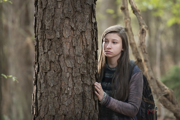 Katelyn Nacon as Enid - The Walking Dead _ Season 5, Episode 15 - Photo Credit: Gene Page/AMC
