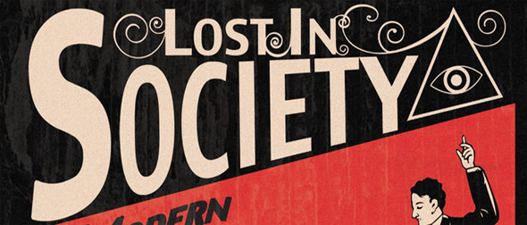 lost in album cover - Lost In Society - Modern Illusions (Album Review)