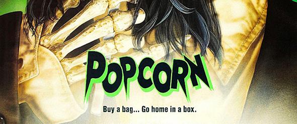 popcorn big slide - This Week in Horror Movie History - Popcorn (1991)