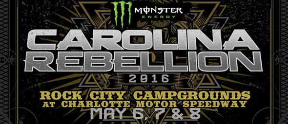 carolina slide - Monster Energy Carolina Rebellion Set For May 6th-8th