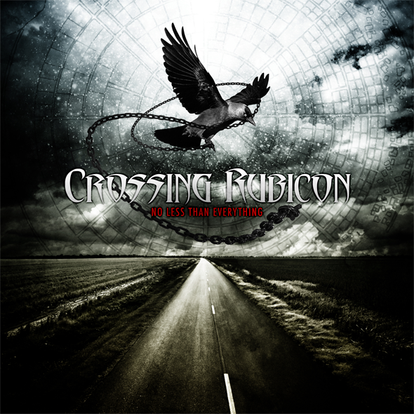 cross album cover - Crossing Rubicon - No Less Than Everything (Album Review)