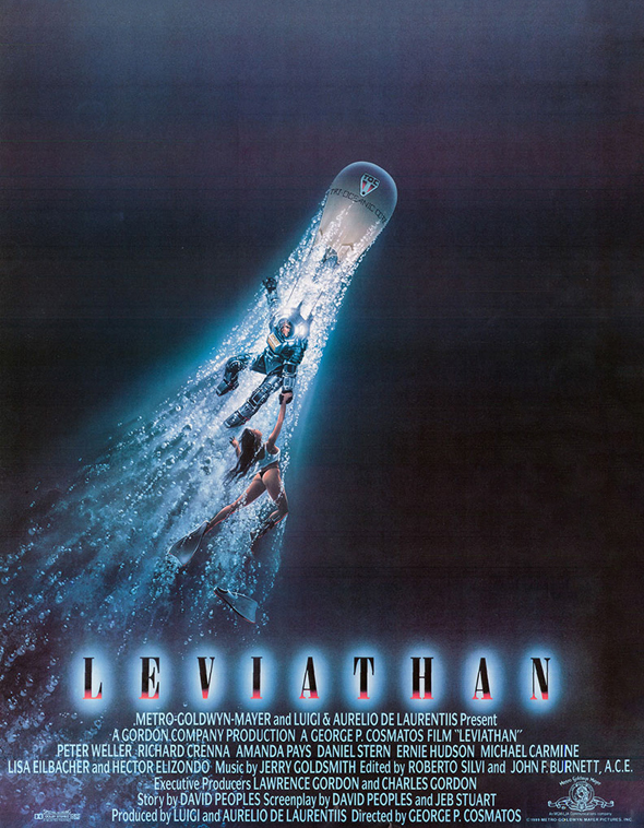 This Week in Horror Movie History - Leviathan (1989 ...