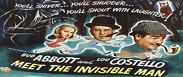 abbot and costello quad - Abbott and Costello Meet the Invisible Man - An American Classic 65 Years Later