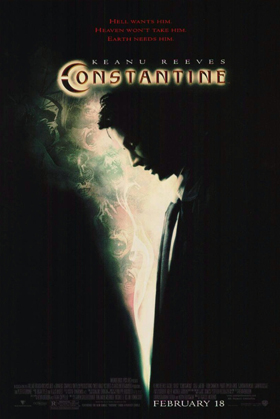 constantine movie poster 2005 big keanu reeves - Interview - Larry Cedar