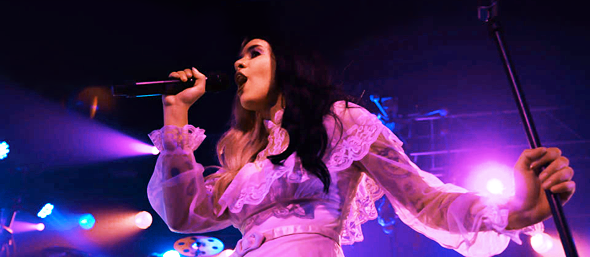 melanie slide - Melanie Martinez Rocks The Cradle Starland Ballroom Sayreville, NJ 3-31-16 w/ Mainland