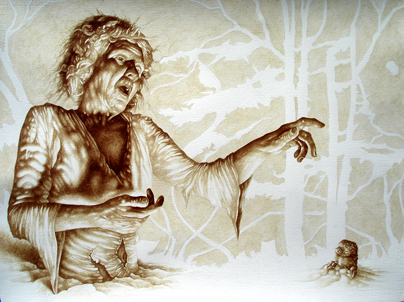 "Vincent Castiglia ""PARABLE OF THE MOLE"" 2008/ courtesy of vincentcastiglia.com"
