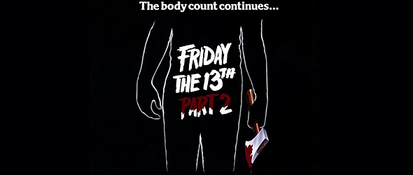 friday the 13th part 2 slide - Friday The 13th Part 2 - Still Slashing 35 Years Later