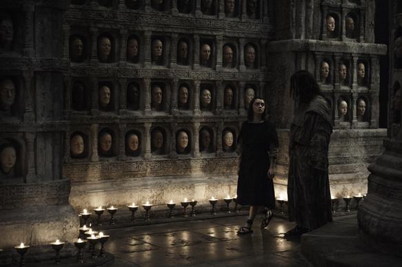 Maisie Williams, Tom Wlaschiha. Credit: Helen Sloan/HBO