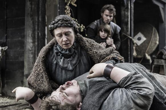 Annette Tierney, Sam Coleman. Credit: Helen Sloan/HBO