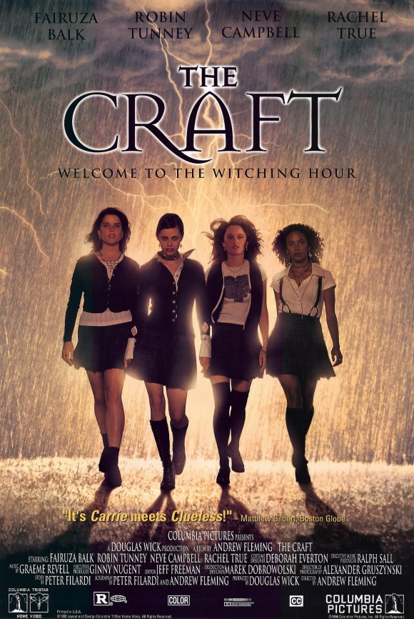 the craft movie poster 1996 1020198968 - The Craft - Casting Spells 20 Years Later