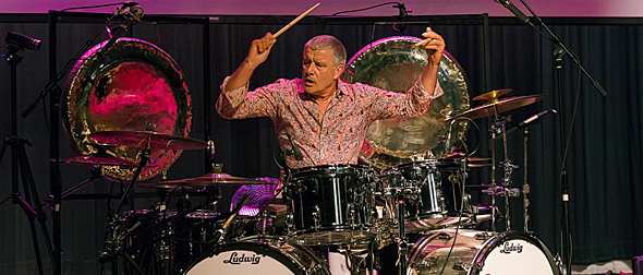 carl palmer slide - Carl Palmer Awe-inspiring At The Boulton Center Bay Shore, NY 6-10-16
