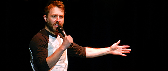 hardwick slide - Chris Hardwick Gets Personal At The Paramount Huntington, NY 6-4-16