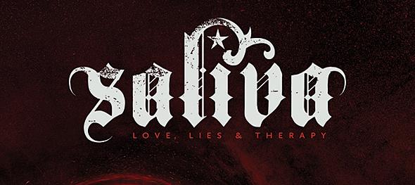salvia slide - Saliva - Love, Lies & Therapy (Album Review)