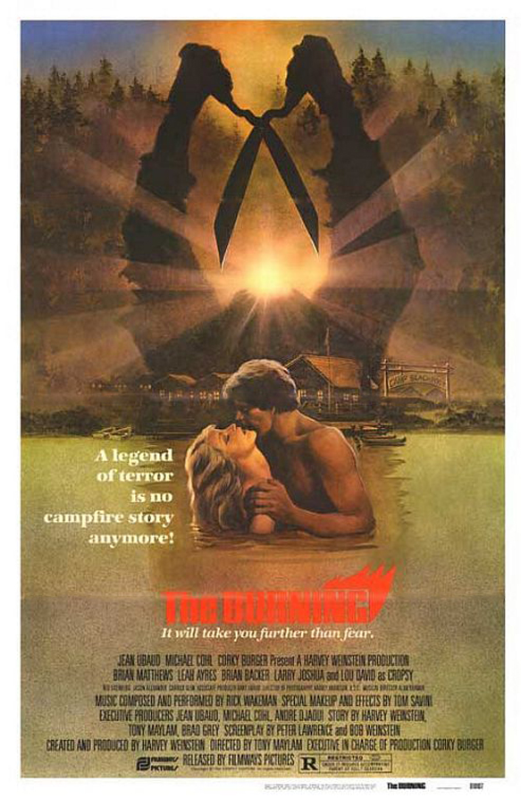 the burning poster - The Burning - Still Smouldering After 35 Years