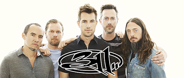 311 2016 promo - Interview - P-Nut of 311