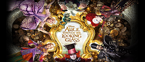 alice through quad - Alice Through the Looking Glass (Movie Review)