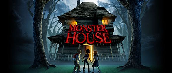 monster house slide - Monster House - A Spooky Adventure Ten Years Later