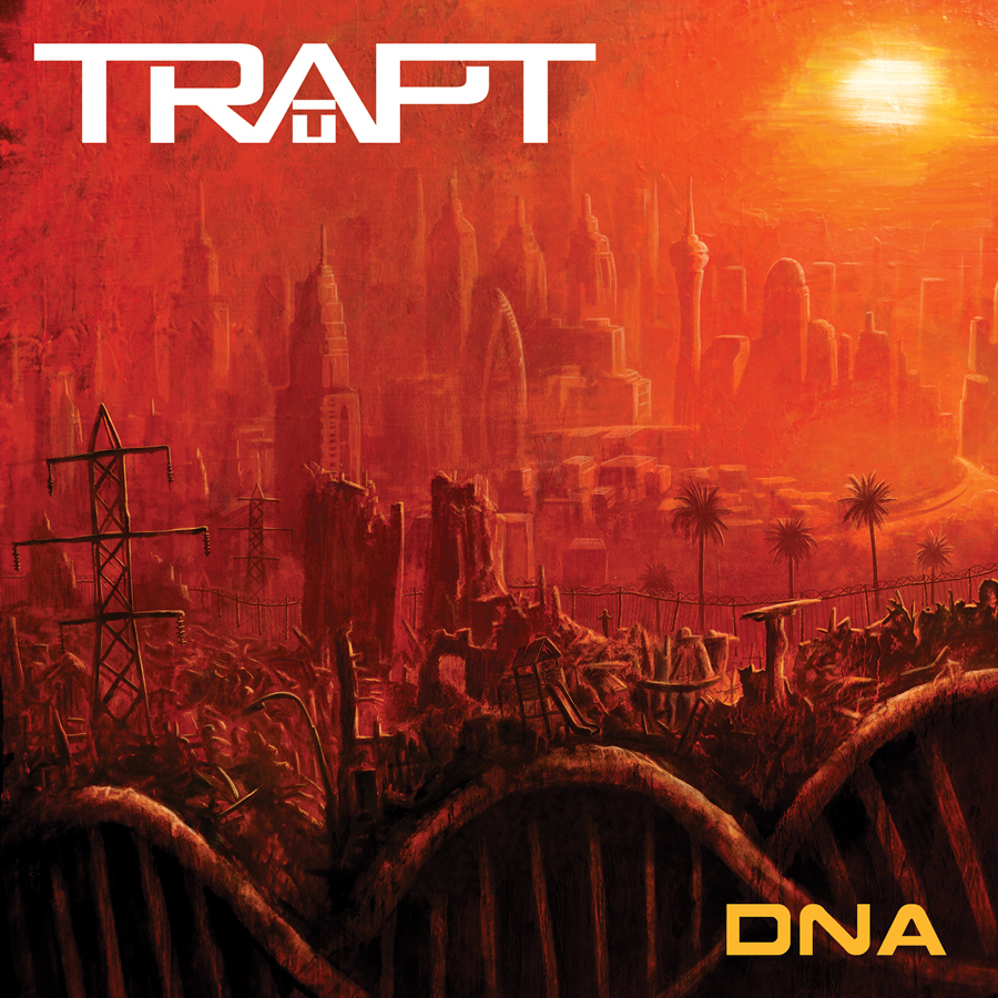 TRAPT DNA Cover - Trapt - DNA (Album Review)