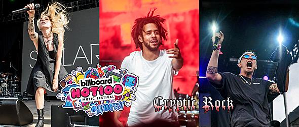 billboard day 2 2016 slide - Billboard Hot 100 Music Festival Explosive Day 2 Jones Beach, NY 8-21-16