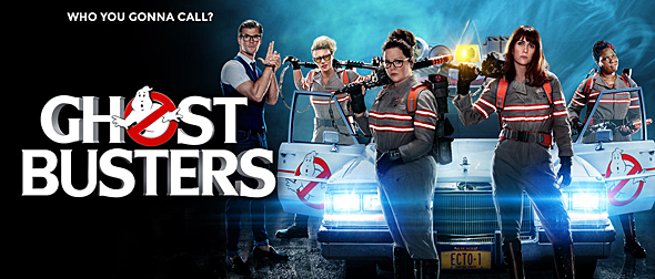 ghostbusters slide 2016 - Ghostbusters (Movie Review)