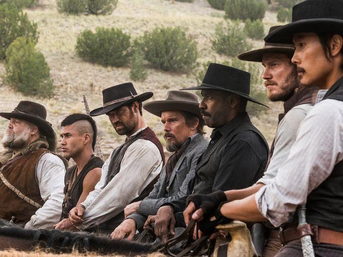 magnificent seven 2016 cast - The Magnificent Seven (Movie Review)