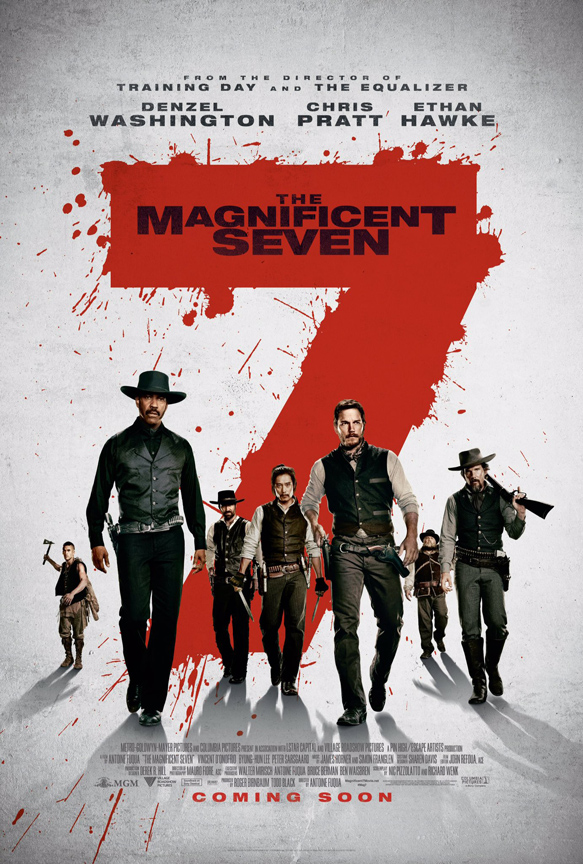 magnificent seven poster - The Magnificent Seven (Movie Review)