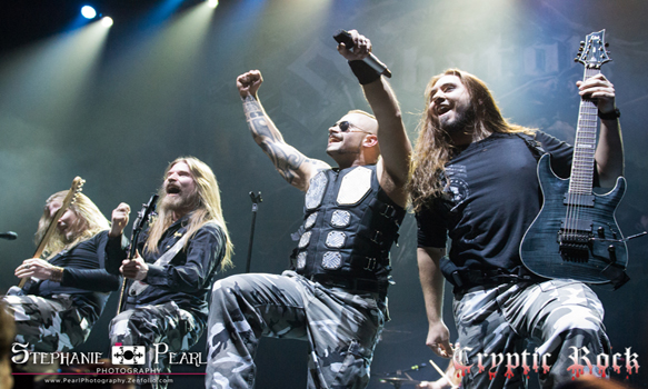 sabaton hammersteinballroom 040915 06 - Interview - Joakim Brodén of Sabaton Talks The Last Stand
