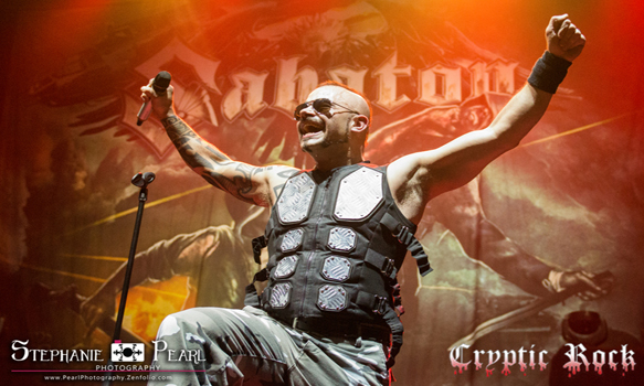 sabaton hammersteinballroom 040915 23 - Interview - Joakim Brodén of Sabaton Talks The Last Stand