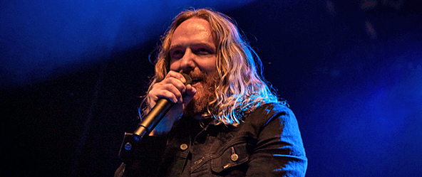 DT live slide - Dark Tranquillity Launch Tour in NYC 11-4-16 w/ Swallow the Sun, Enforcer, & Starkill